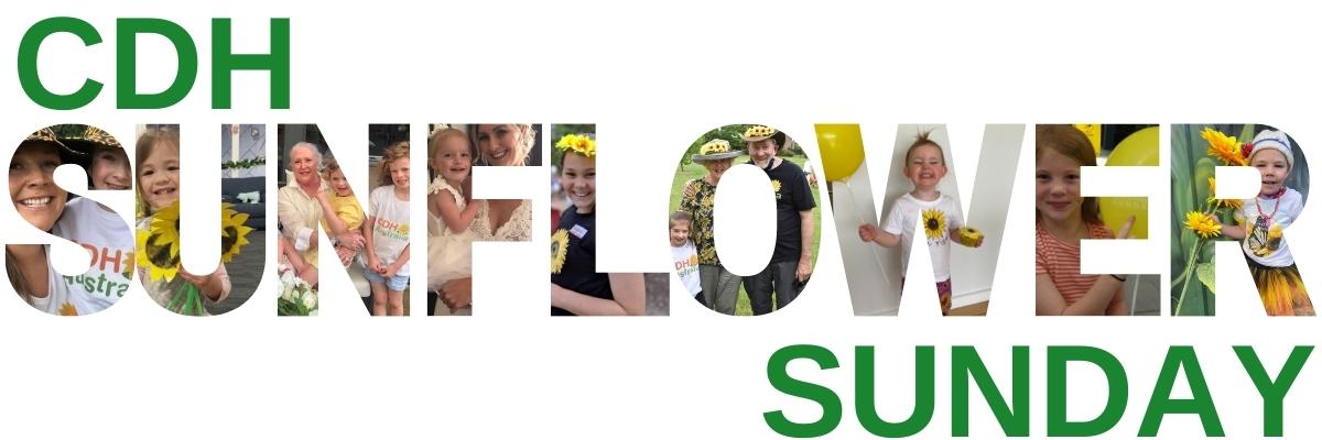 CDH Sunflower Sunday banner