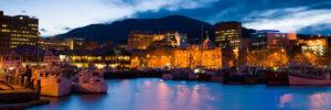 Hobart harbour point to pinnacle fun run fundraising event CDH Australia