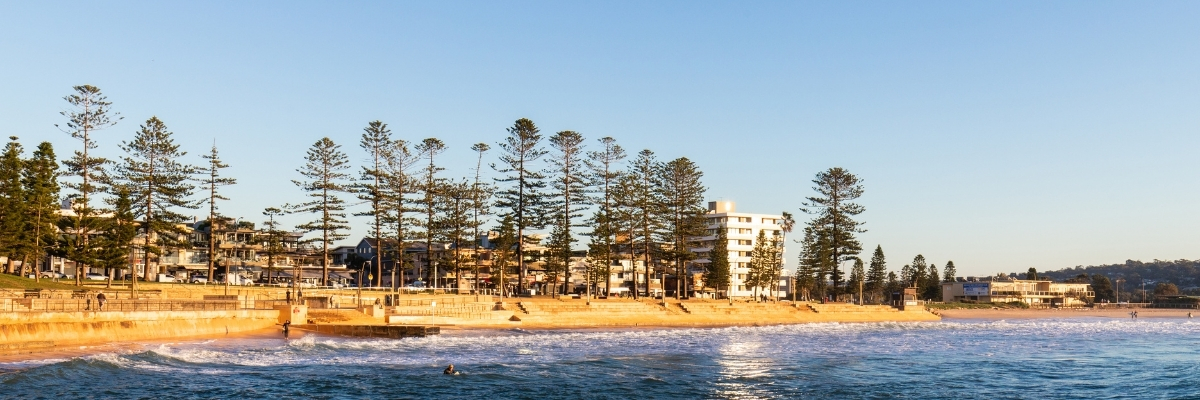 Stretch of beach in Sydney that is Beach 2 Beach fun run