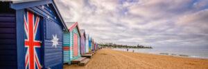 Beach huts at Brighton Beach